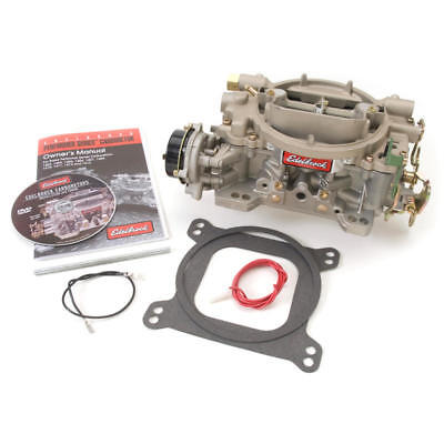 Edelbrock Carburetor 1409; Performer Marine 600 cfm Vacuum Secondary Iridited