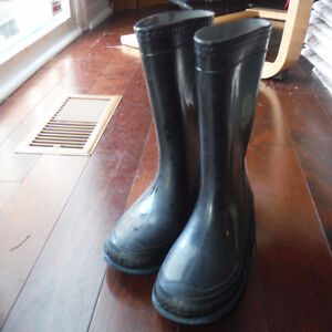 Youth Rain Boots Size 3