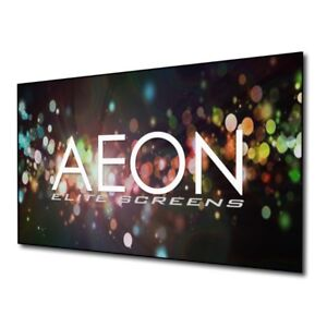 Elite Screens Aeon, 120-inch 16:9, 4K Home Theater Fixed Frame