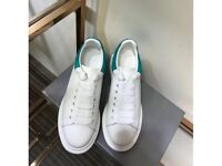 Alexander McQueen - OVERSIZED SNEAKER - White & Blue- Fully Boxed - Limited Sizes