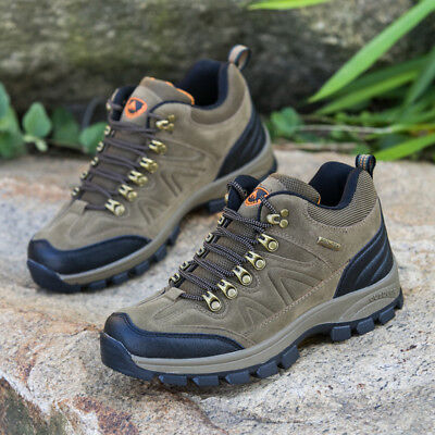 Men's Outdoor Walking Hiking Running Trail Lightweight Waterproof Shoes