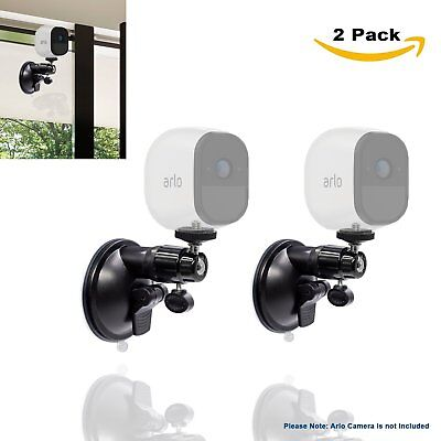 2Pcs Suction Mount For Arlo Hd Pro Go Zmodo Indoor Outdoor Wireless Smart Secu