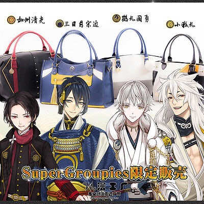 Cosplay Pu School Bag Anime Touken Ranbu Online Unisex Handbag Shoulder Bag