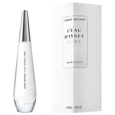 ISSEY MIYAKE PURE Women Perfume Spray 1.6 oz 50 ml L'EAU D'ISSEY EDT SEALED