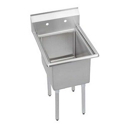 Elkay Foodservice 1 Compartment Sink 18300 Stainless 18 X 18 X 12 Bowl