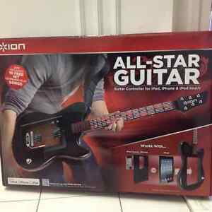 All-star guitar pour iPod, iPhone, ipad-  Neuf