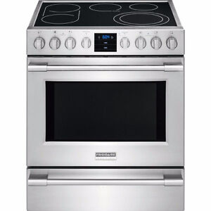 """FRIGIDAIRE PROFESSIONAL 30"""" electric range, New.  Model: CPEH30"""