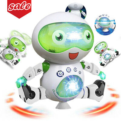 Toys for Boys Robot Kids Dancing Robot 3 4 5 6 7 8 9 Year Old Cool Toy Boy Gift (Cool Gifts For 8 Year Old Boy)