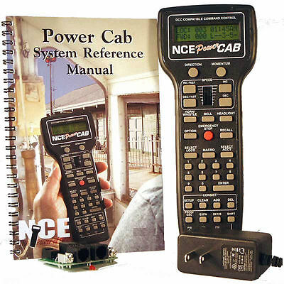 NCE Power Cab 2 Amp DCC Starter System with Power Supply v1.65 PowerCab 524-025