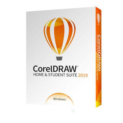 COREL CorelDRAW Home & Student Suite 2019 - DEUTSCHE BOX - VOLLVERSION