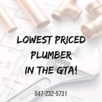 PLUMBER❗️❗️Same Day CHEAP ☎️647-232-5731