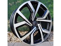 """17"""" Clubsport Alloys and tyres for 5x100 VW Polo Seat Ibiza Etc"""