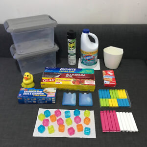 Household Wares, Storage Box, Ice Packs, Cleaning Items