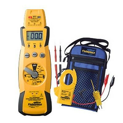 Fieldpiece Hs33 Expandable Manual Ranging Stick Multimeter Hvacr Full Featured