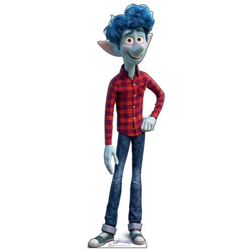 "IAN LIGHTFOOT ""Onward"" Lifesize CARDBOARD CUTOUT Standup Standee Poster Pixar"