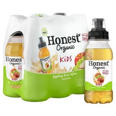 2x Honest Kids Organic Apple 6 x 200ml