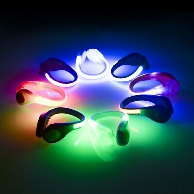 Gear For Night Running (2Pcs LED Shoe Clips Night Running Gear for Runners Running Gear Clips Shoe)