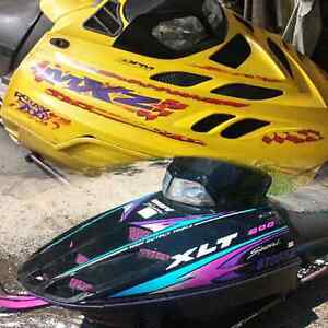Two Sleds for $3000. Mxz 700 XLT 600
