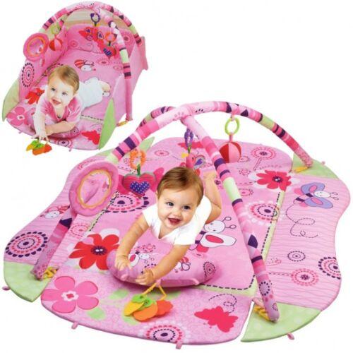 XL Krabbelnest Krabbeldecke mit Spielbogen Nest Baby Spielmatte Krabbelmatte toy