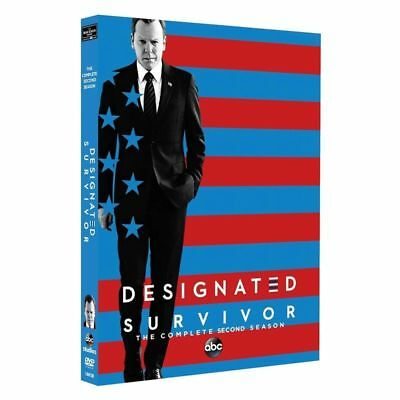 Brand New Designated Survivor The Complete Second Season 2  Dvd  5 Disc Set