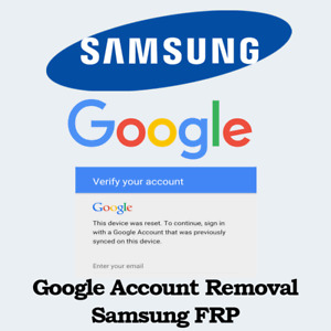 GOOGLE /FRP ACCOUNT REMOVAL