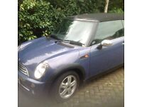 Mini One Convertible Pepper Pack, chrome accessories, 44k miles, part leather seats