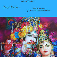 Call for Vendors at Festival of India July 21