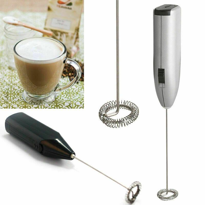 Kaffee Latte Milchaufschäumer Schokolade Schaumig Cappuccino Mischung w Whi W8A8