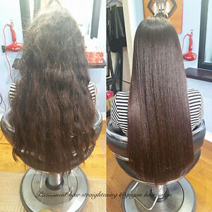JAPANESE HAIR STRAIGHTENING KERATIN TREATMENT OLAPLEX TREATMENT Peterborough Peterborough Area image 9