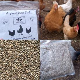 Organic hemp seeds. Chickens brand!