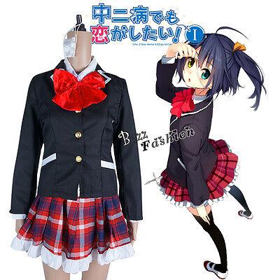 Kostüm Cosplay Anime Chuunibyou Demo Koi Ga Shitai Takanashi Rikka Lolita - Takanashi Rikka Kostüm