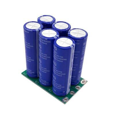 6pcs 16v 16.6f Super Capacitor High Current 2.7v 100f Double Row Ultracapacitor