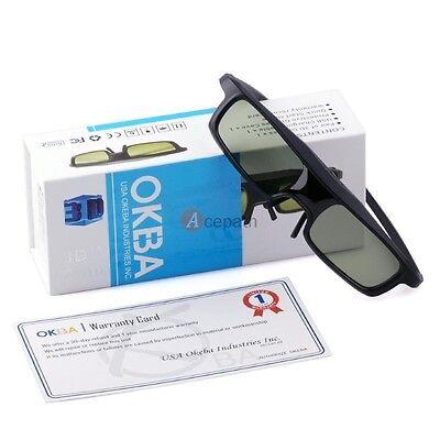 Rf 3d Glasses For Epson Powerlite Home Cinema2030 3500 50...