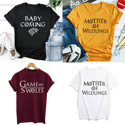 Mutter von Wildlings T-shirt Baby kommt Shirt Unisex Tops Tumblr Tee S-XXXL - Mutter Baby Kostüm
