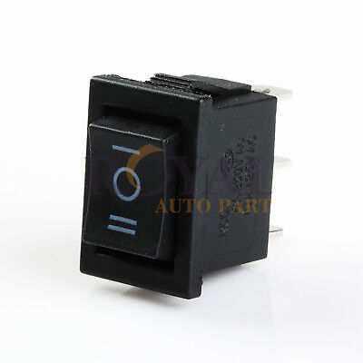 Mini 10 Amp Rocker Switch 3 Position Single Pole Double Throw On-off-on