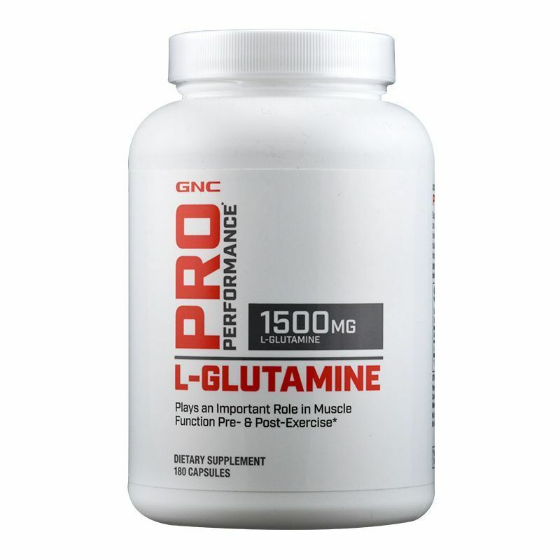GNC Pro Performance L-Glutamine 1500-Muscles for Workouts