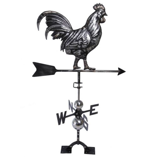 Antique Rooster Weathervane: Classic Old Fashion Antique Look
