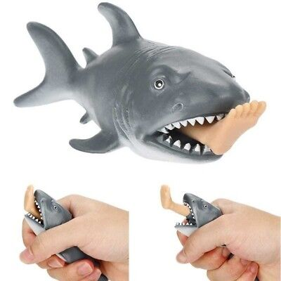 Funny Stress Balls (Shark Toy Squeeze Ball Stress Pressure Relax Toy Kids Adult Funny Shark Toy)