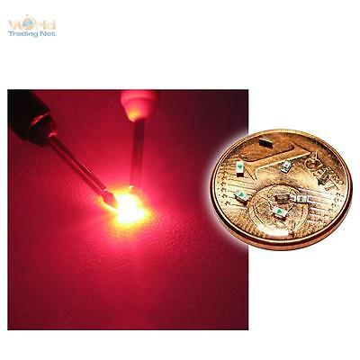 20 rote SMD LEDs 0603 - tief rot red rouge rojo rosso rood SMDs Modellbau LED