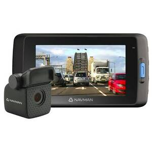 NAVMAN DASHCAM Mivue 698 Dual Camera Footscray Maribyrnong Area Preview