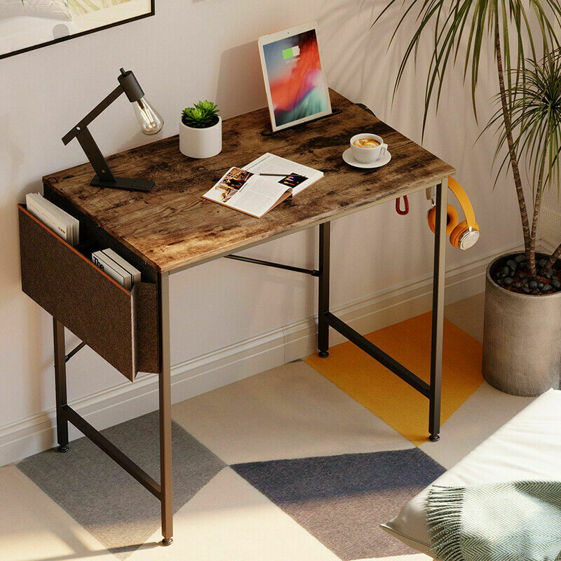 """32"""" Small Computer Desk PC Laptop Table Home Study Writing Workstation Furniture"""