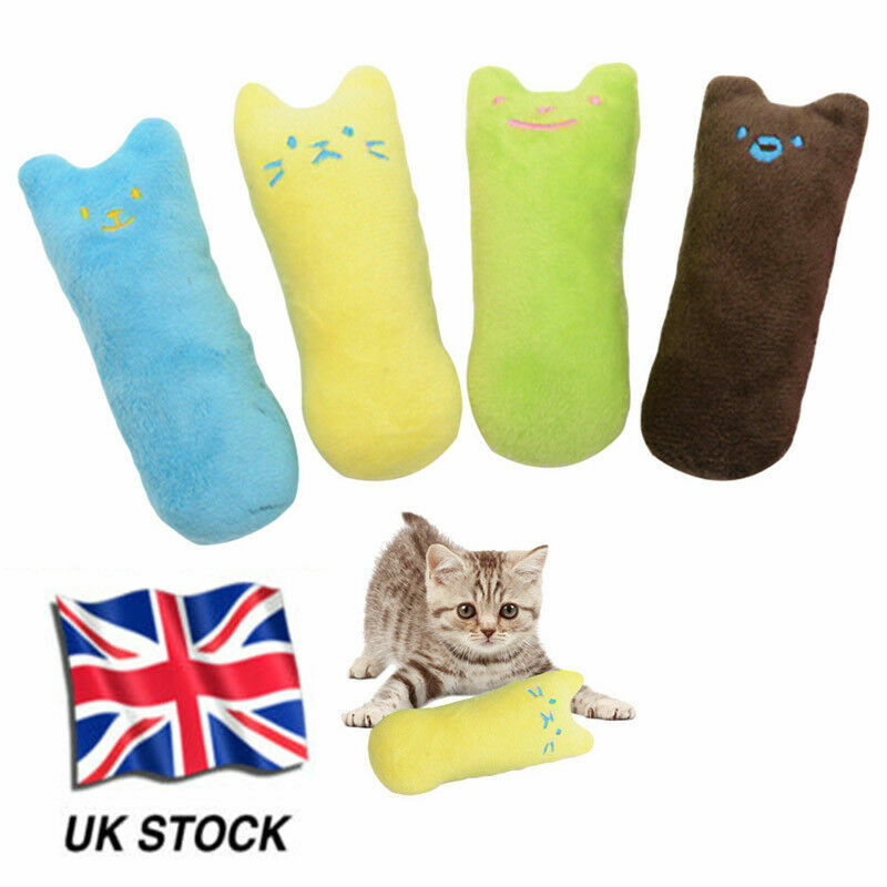 Pet Chew Catnip Cleaning Teeth Molar Toys Kitten Thumb Shape Available Practical