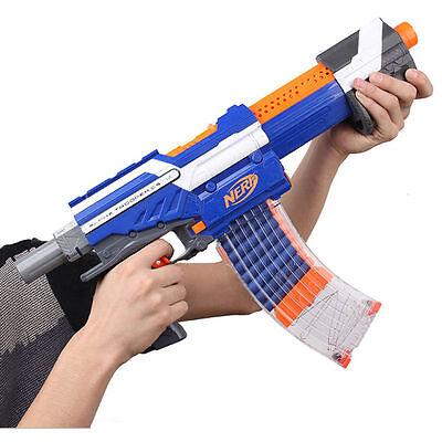 Clear 15 Darts Clip Magazine Replacement for Nerf N-strike Elite Series Gun FE