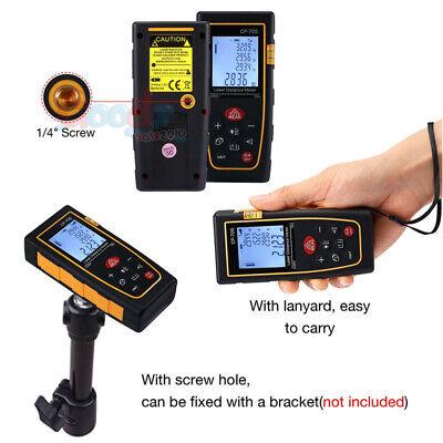 100m Handheld Digital Laser Distance Meter Finder Measure Tape Range Finder Tool
