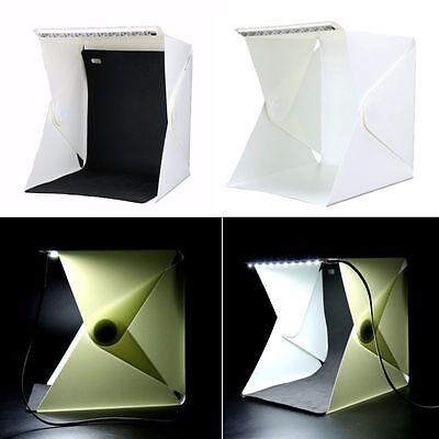 Folding Portable Photo Studio Soft Box Table Cube with Led Light -BM