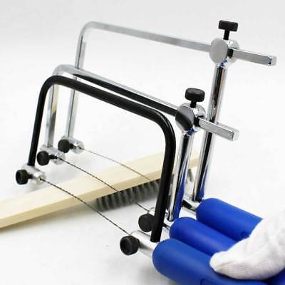 Coping Saw Woodworking Jewelry Cutting Carpentry Hand Tools+12pcs Saw Blades Set