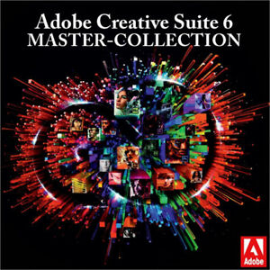 Adobe Master Collection CS6 for Windows OR Mac