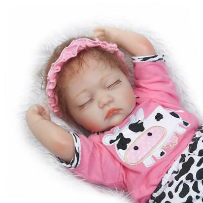 16inch40cm Lovely Reborn Baby Dolls Soft Silicone Vinyl Lifelike Real Touch Girl