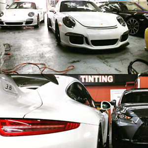 Performance Auto Styling &  Protection: Tint & PPF