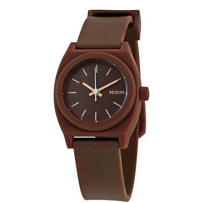 Nixon Small Time Teller Dark Brown Dial Ladies Watch A425 400 00